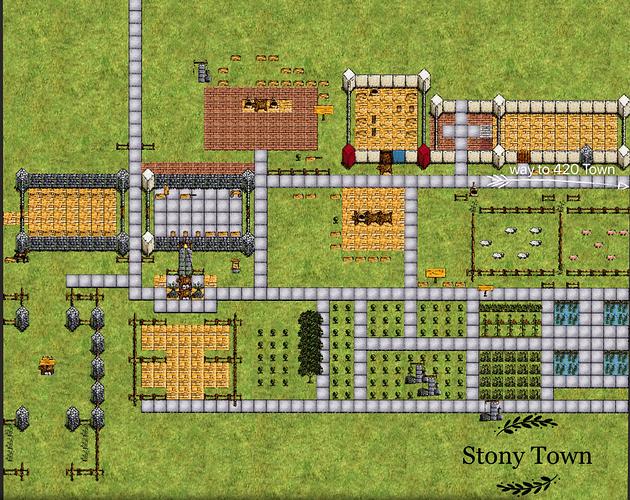 stony town