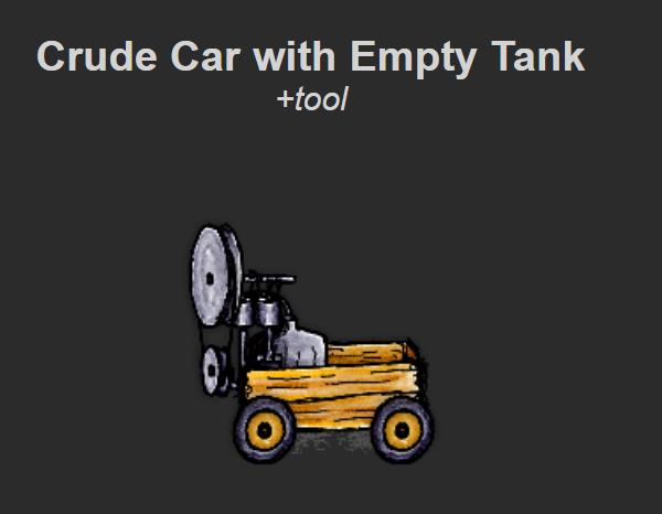 crude car