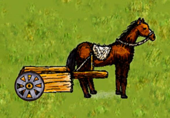 Big-Wheel-Horse-Cart